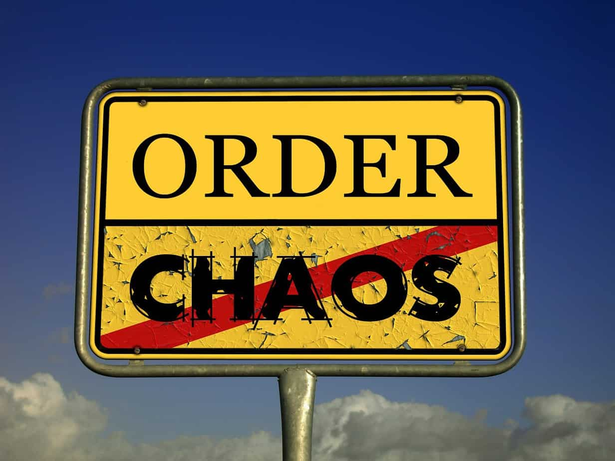 Order vs Chaos and a Network Audi