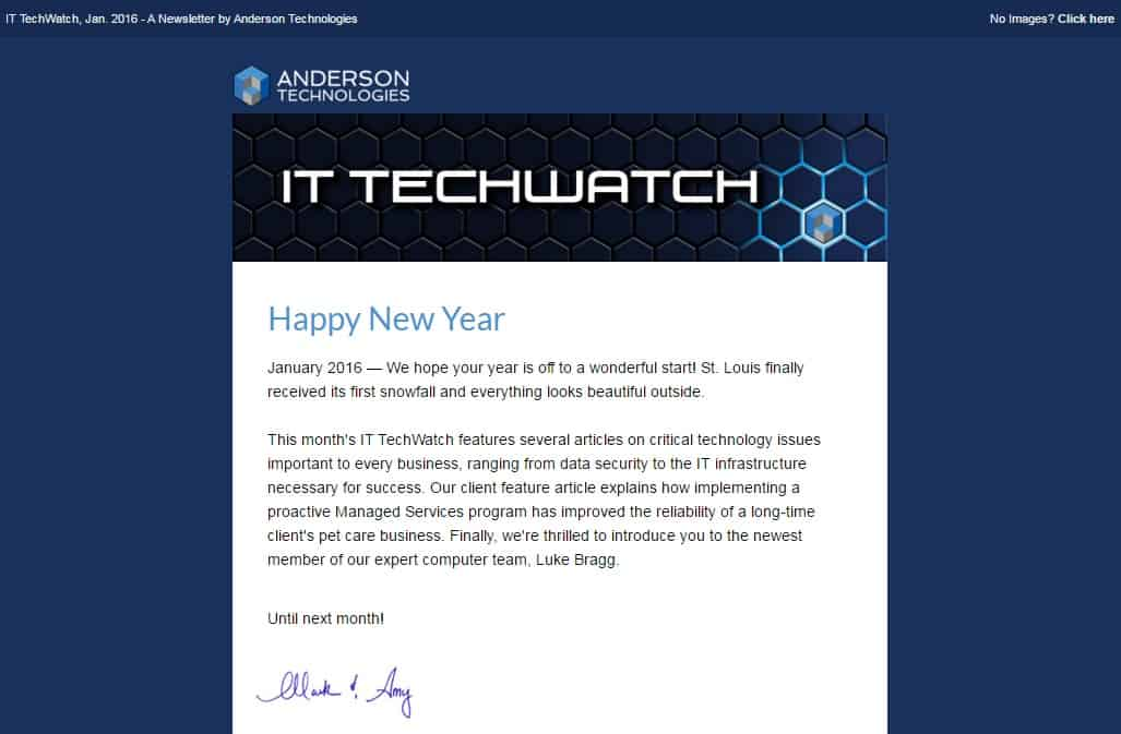 St. Louis Computer Company IT TechWatch Newsletter