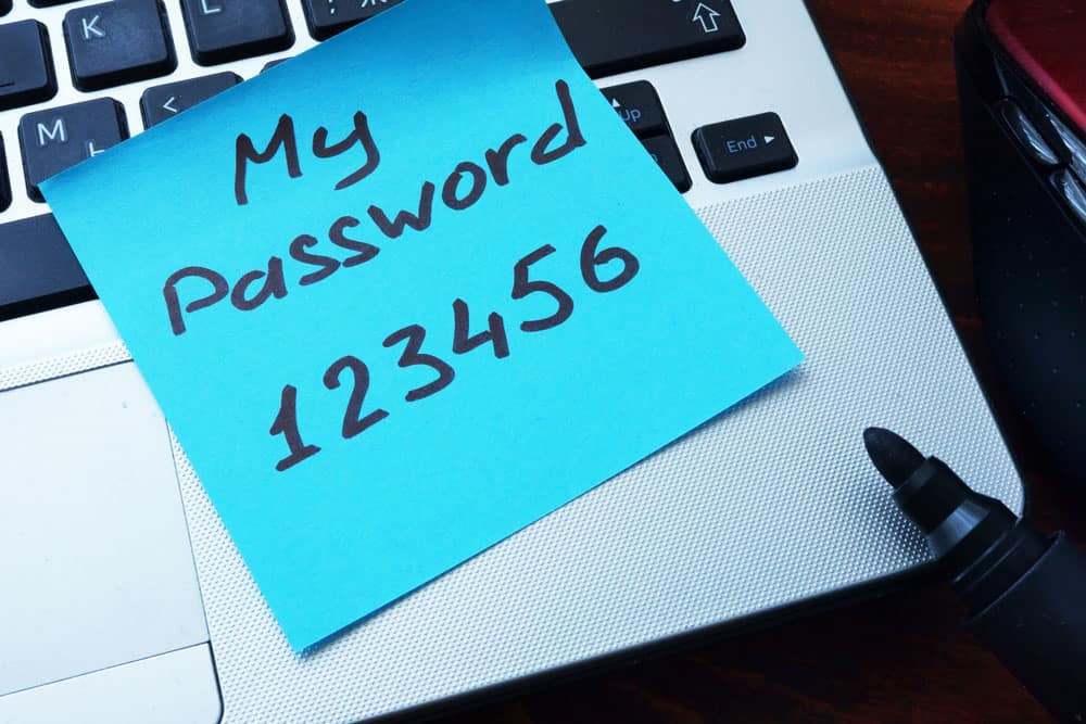 Password Safety Cyber Security