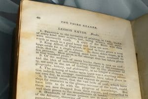 Water damage protect historical documents