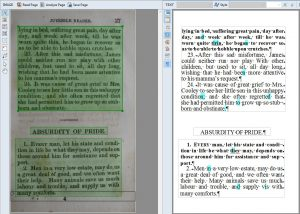 Historical document preservation with OCR