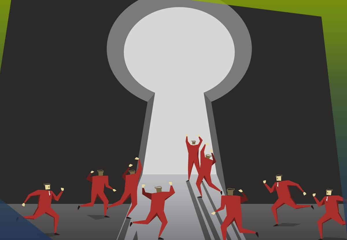 Are criminals accessing an open door in your network?