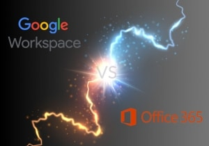 Google Workspace versus Microsoft Office 365